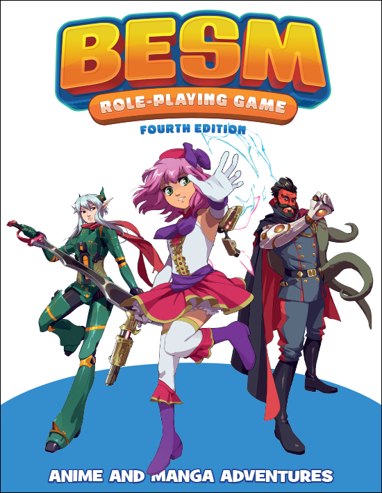 BESM (Big Eyes, Small Mouth) Fourth Edition Core Rulebook