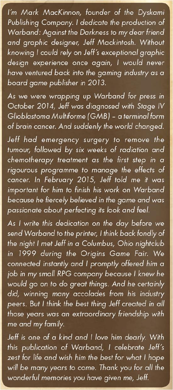 Jeff Mackintosh Tribute