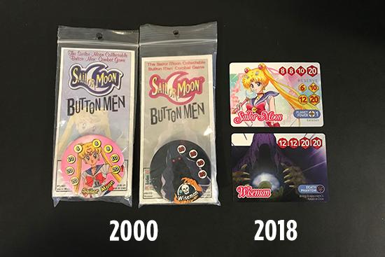 Origins of Sailor Moon Dice Challenge